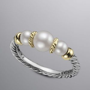 David Yurman Ring from the Pearl Collection Sz 7